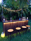 Rustic Beer Bars, Rented Rustic, Outdoor weddings, Steakhouse Catering, On-site Parrillada