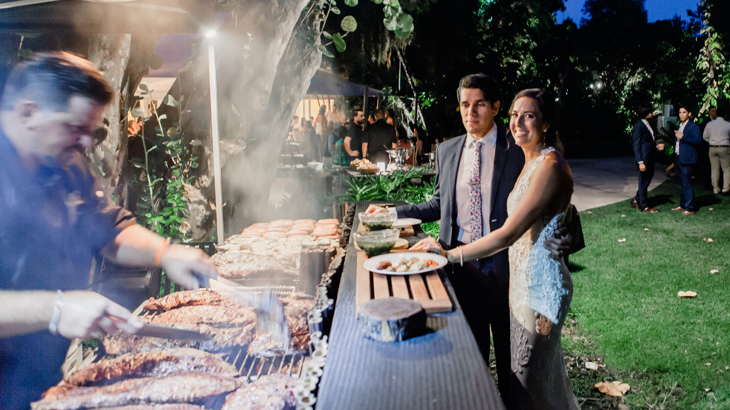 Newly Weds at the Grill Bar by Yummy Chori