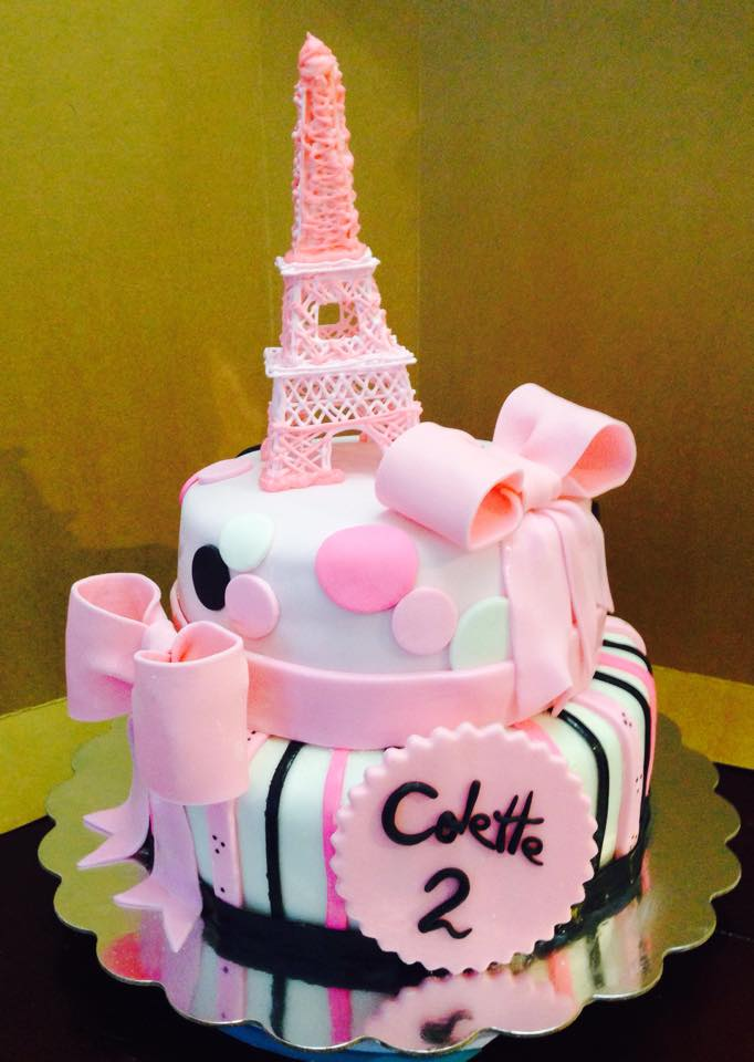 Eifel Tower Cake