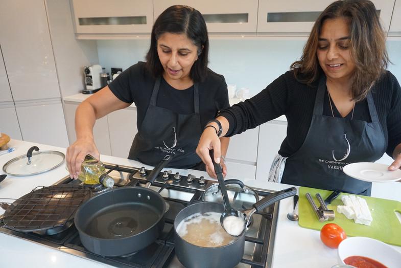 Chhaya and Varsha