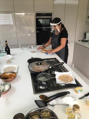 Chhaya Making Roti