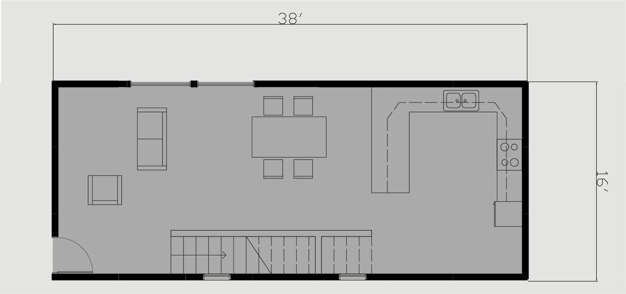 Bar Module First Floor Plan