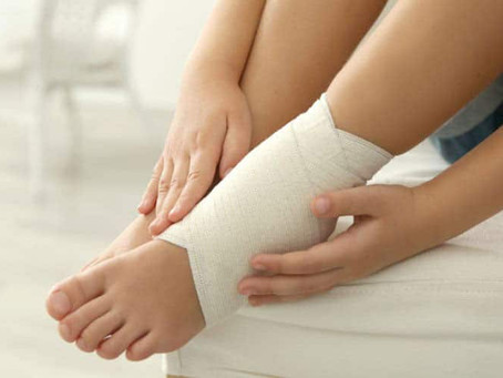 Help for kids' sports injuries with RICER.