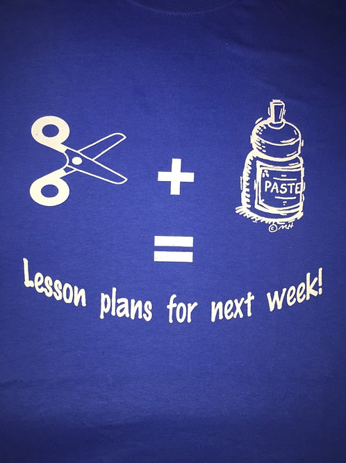Royal Blue - Lesson plans for next week