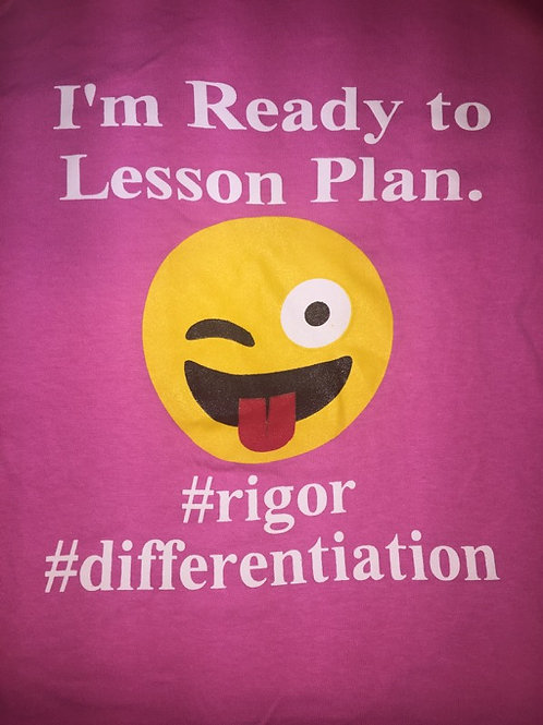 Pink - I'm ready to Lesson Plan