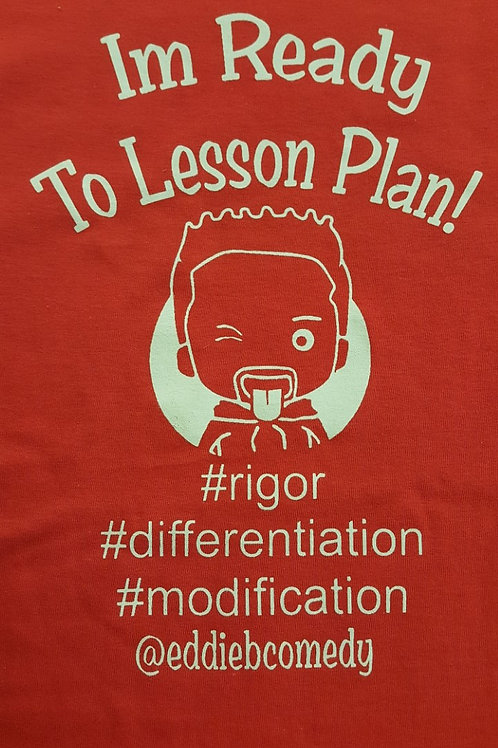 Im Ready to Lesson Plan - Red/Creme