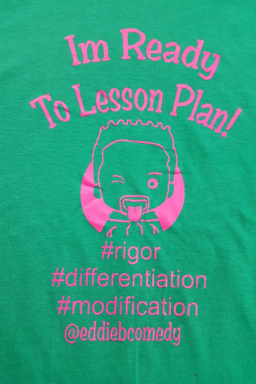 Im Ready to Lesson Plan - Pink/Green