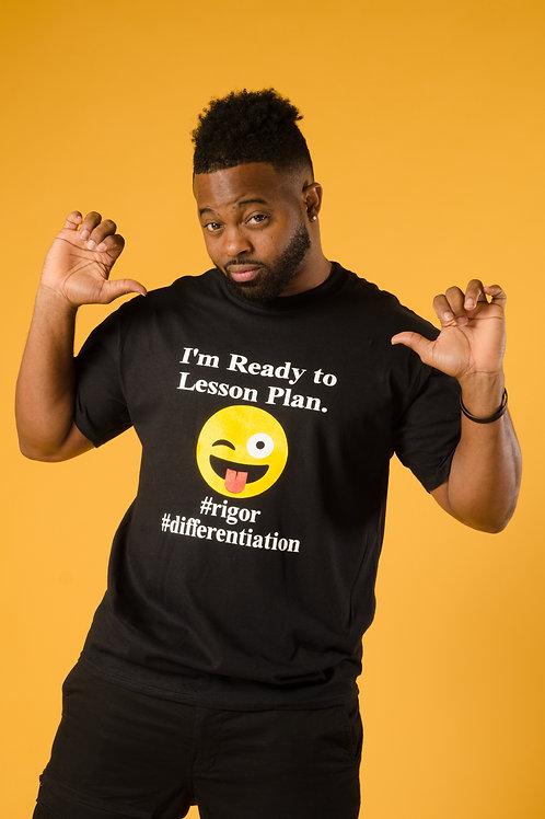 Black - I'm ready to Lesson Plan