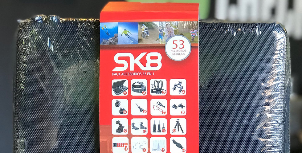 SK8: PACK 53 ACCESORIOS SK8 CAM