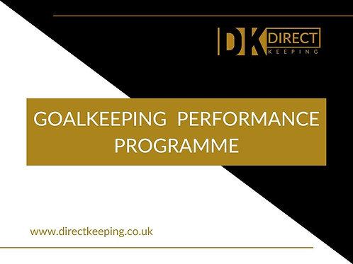 Goalkeeper Performance Programme