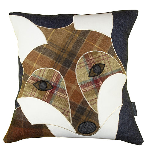 Buckley and Booth Fenland Fox luxury country house cushion