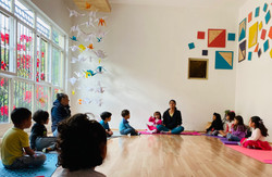 Yoga para niños Casa Yinú