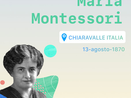 Biografía Maria Montessori