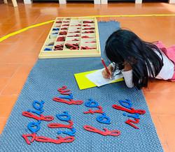 Escritura Montessori