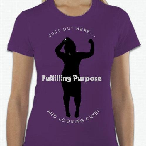 Fulfilling Purpose Shirt (Purple)
