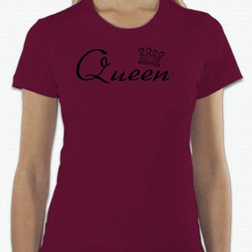 Queen Shirt (Maroon)