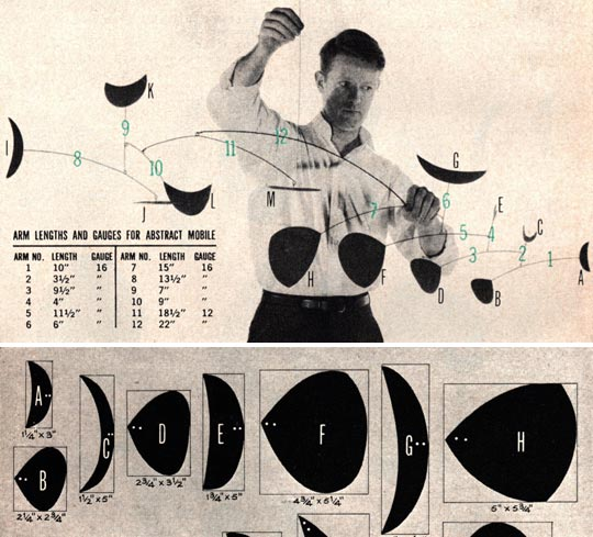 Alexander Calder how-to-instructions