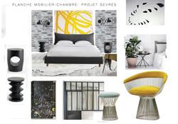Planche mobilier- Projet Sèvres