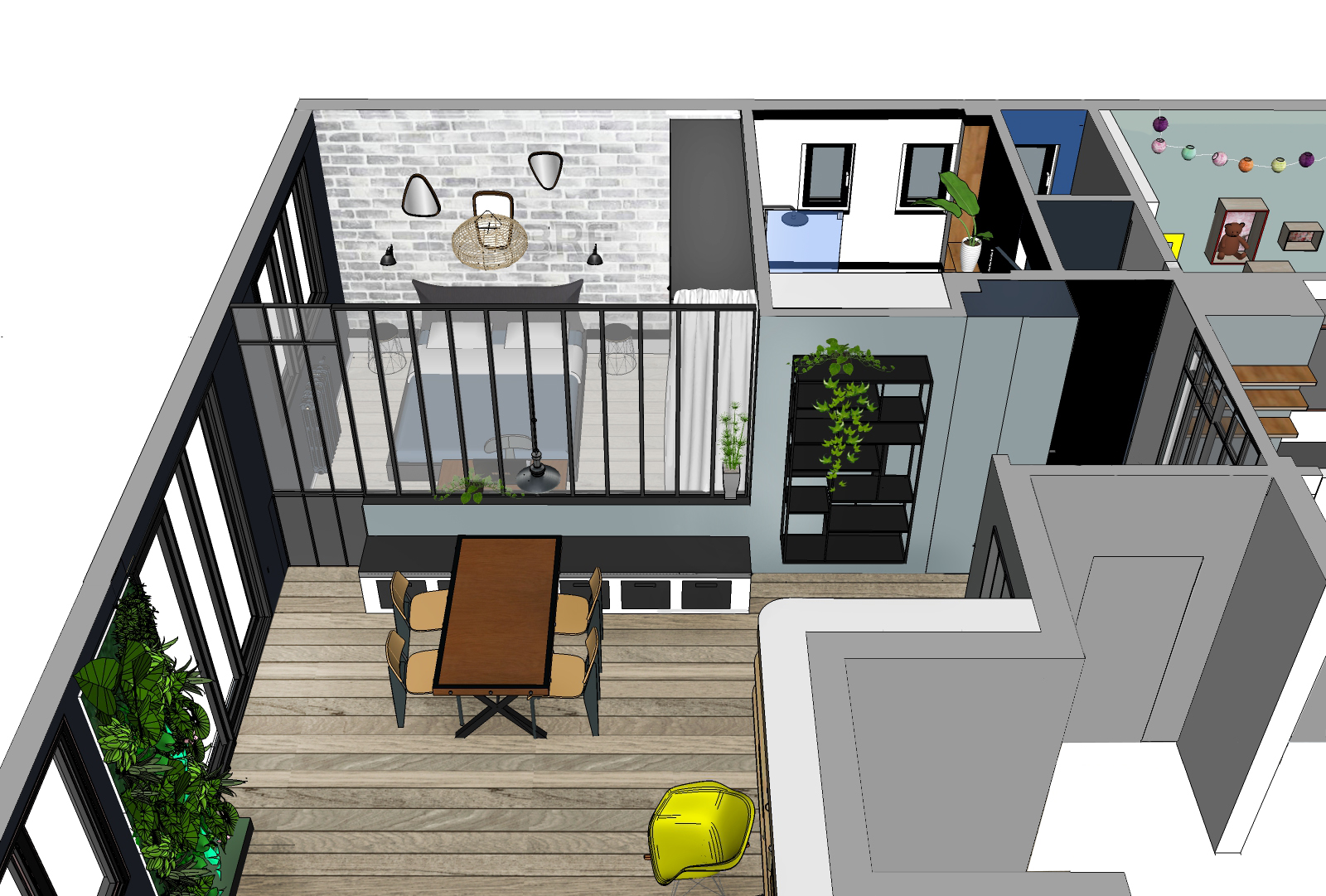 Sèvres 1 -Perspective 3D