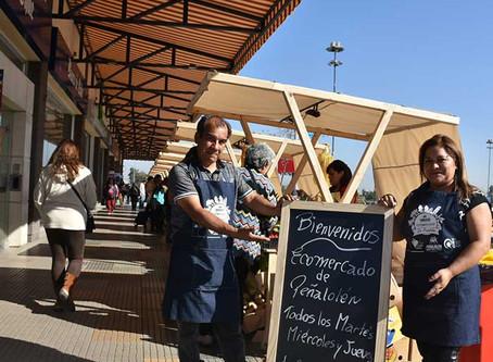 Ecomercado de Peñalolén.