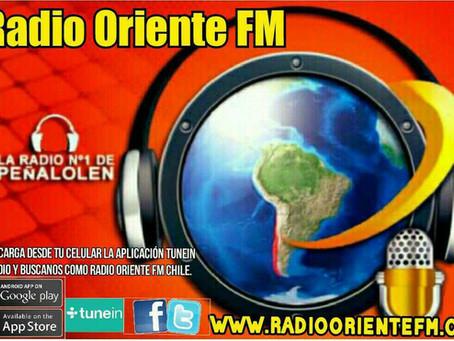 Radio Oriente está en tu celular.
