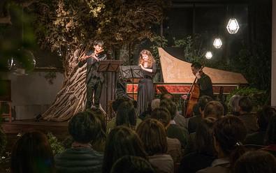 Performance with Belgium oboist Nele Vertommen
