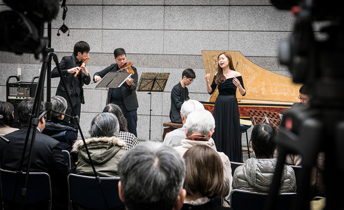 Performance at Takamatsu Art Museum