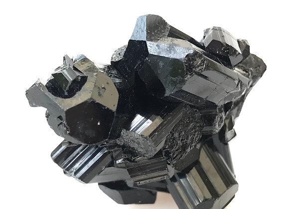 Black Tourmaline Crystal Cluster