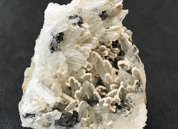 Quartz Sphalerite Galena Specimen
