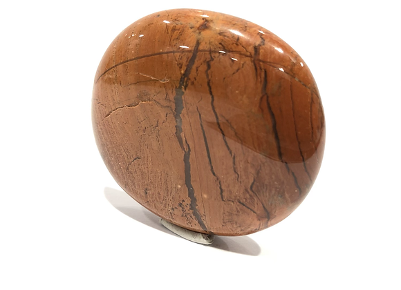 Red Jasper Palm Stone