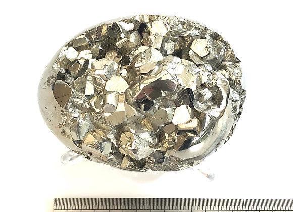 Iron Pyrite Egg Large
