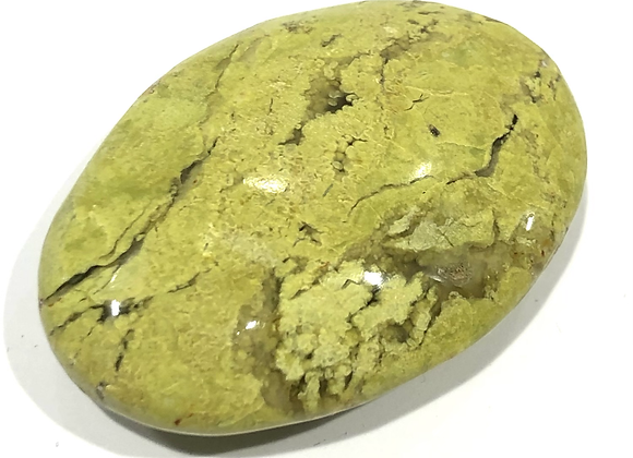 Green Opal Palm Stone