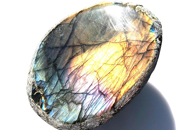 XXL Labradorite Dragon Egg