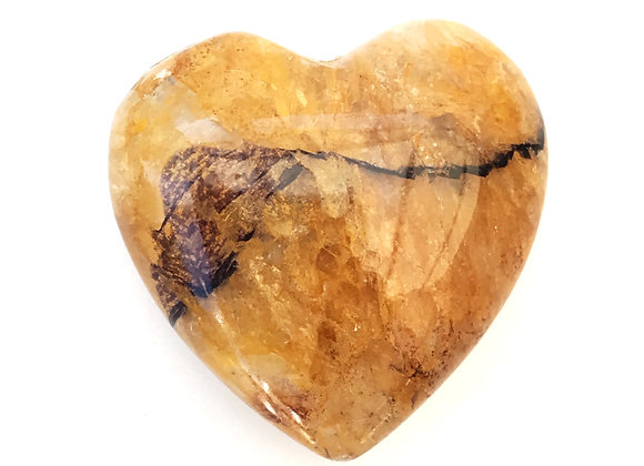 Blue John Witches Finger Heart