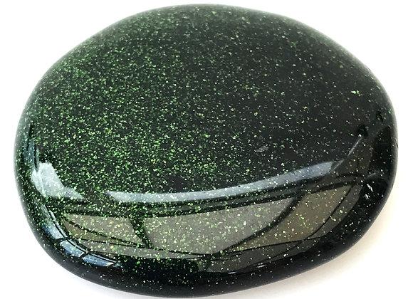 Green Starstone Palm Stone