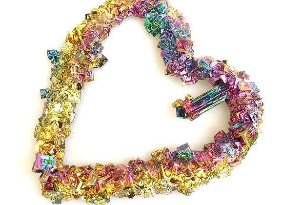 Bismuth 'Heart'