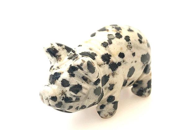 Dalmatian Jasper Piggy