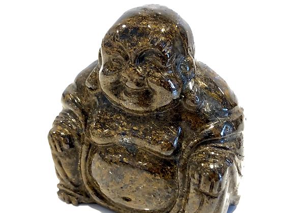 Bronzite Laughing Buddha