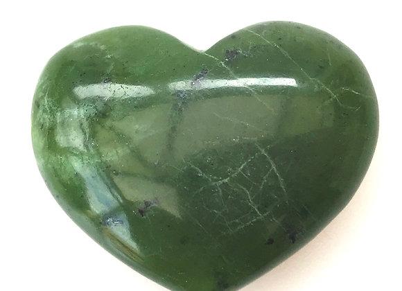 Nephrite Jade 'Heart'