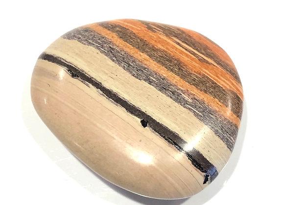 Printstone Jasper Palm Stone