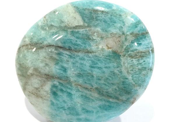 Amazonite Palm Stone