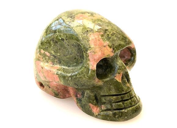 Unakite Skull