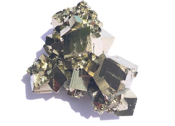 Iron Pyrite Crystals A Grade