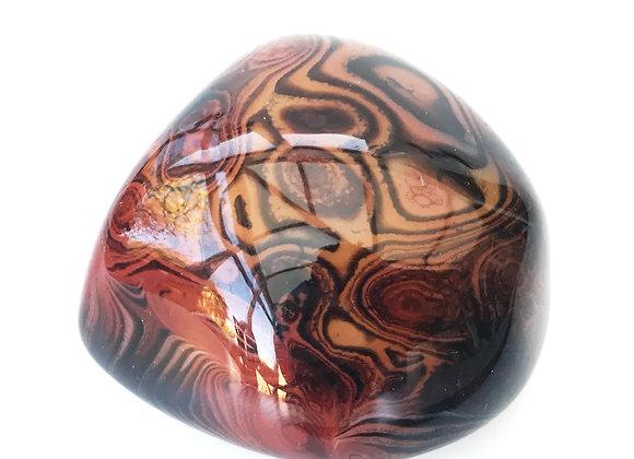 Agate Pebble (colour enhanced)