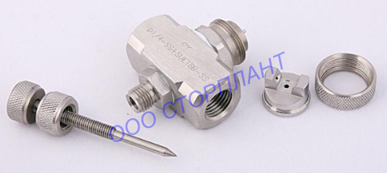 pneumatic-nozzle-JN-spraying-pressure-external-flat fan