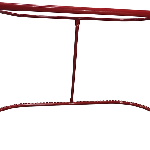 """Professional Red Hockey Goal Frame 44"""" (Pair)"""