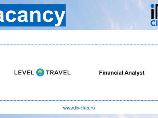 Level Travel - Financial Analyst