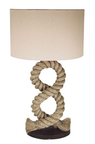 Lampe corde avec ABJ