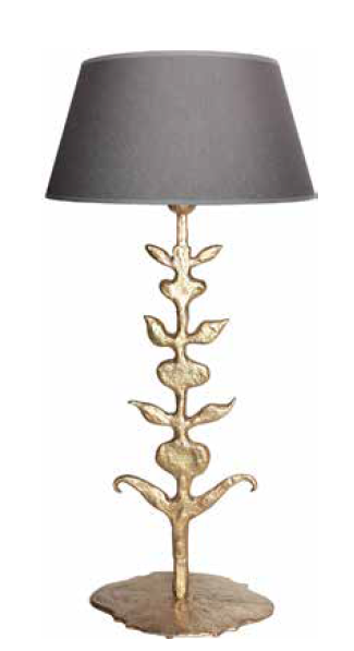 Lampe GOA bronze doré