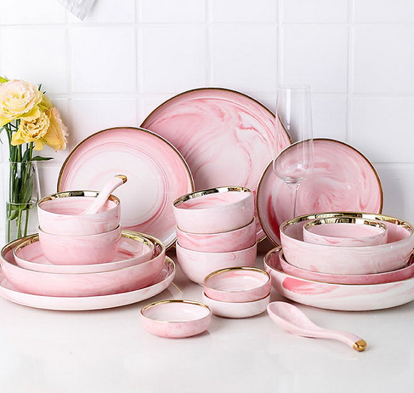 Pink Shade Tableware (PL01)